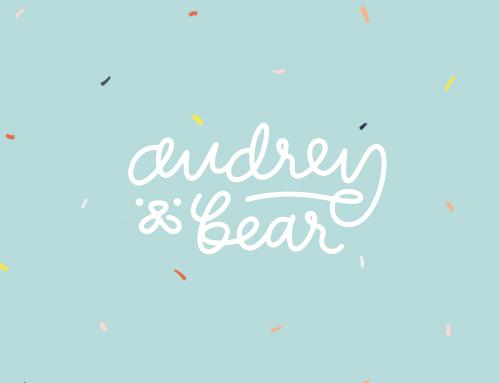 audrey & bear.