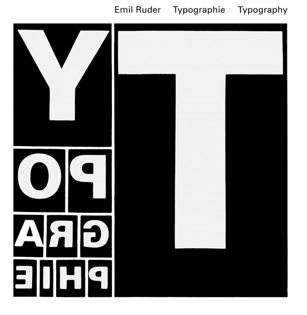 """""""Typographie: A Manual of Design"""", by Emil Ruder (1967)"""